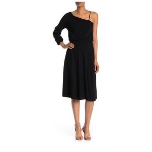 A.L.C. Shara One Shoulder Midi Dress NWT small